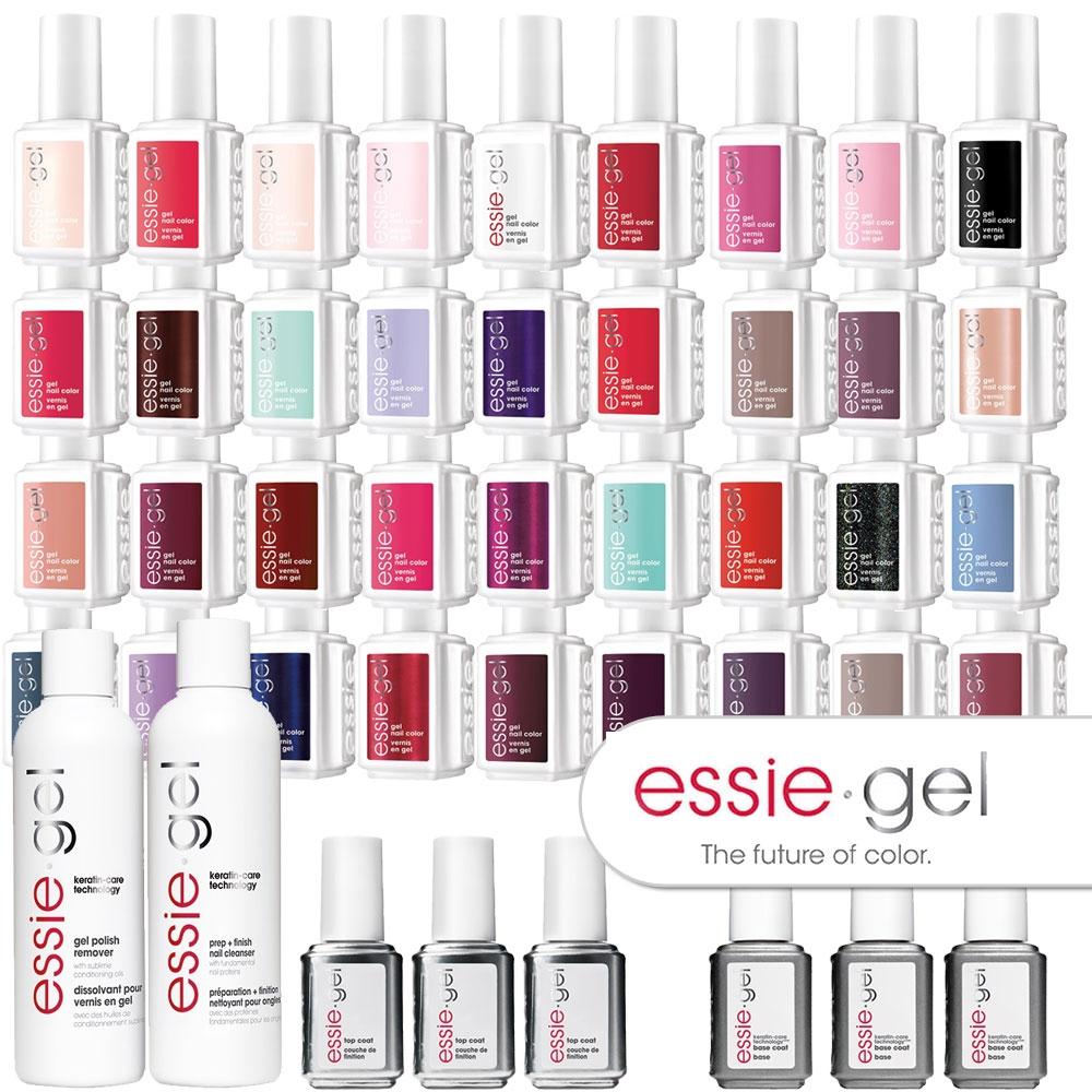 essie gel - kolekcja